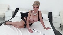 Lady Sonia and Red fuck each other wih a huge double BBC