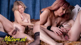MatureNL – Three Girlfriends Eating Out Each Others Hairy Pussies